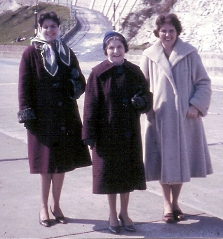 My Aunt, My Nana, My Mother circa 1964